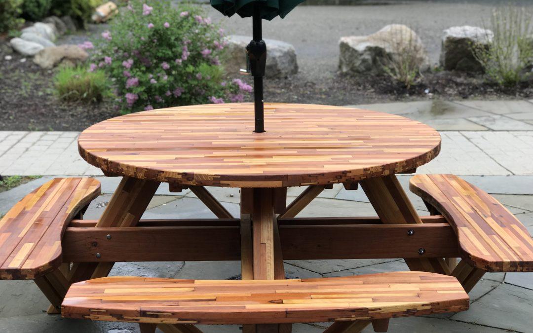 New Patio Tables & Umbrellas