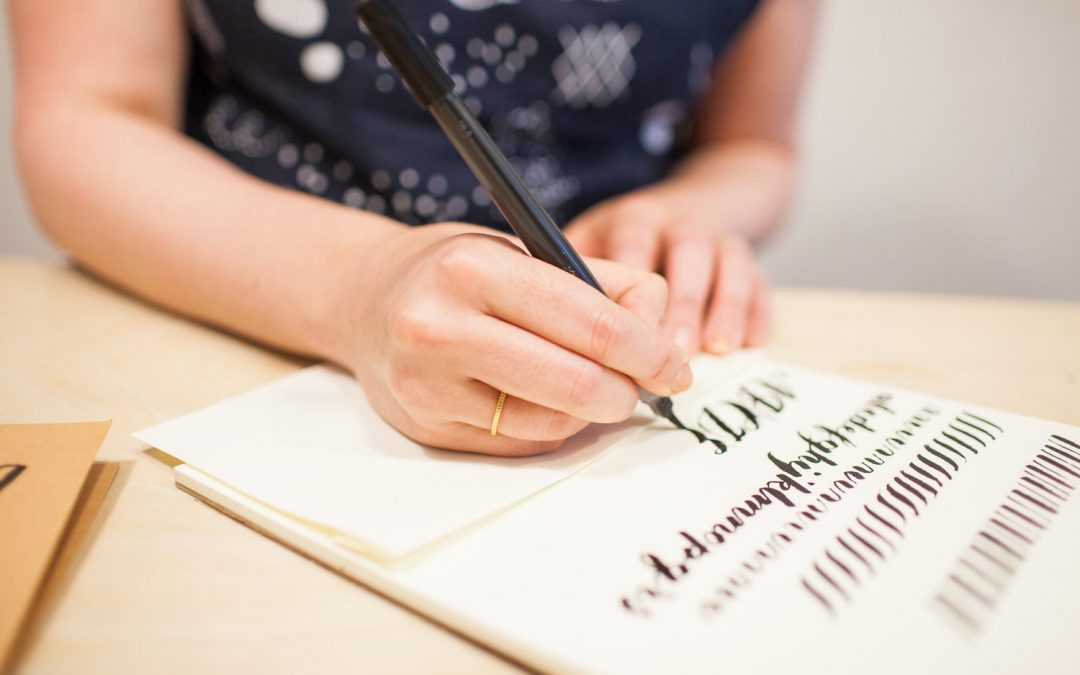 Modern Calligraphy Workshop November 23
