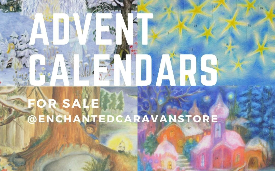 Advent Calendars For Sale Now at Enchanted Caravan Store