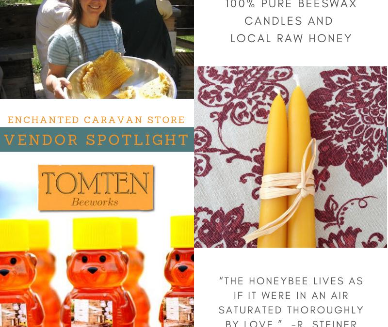 Tomten Candles & Honey at School Store