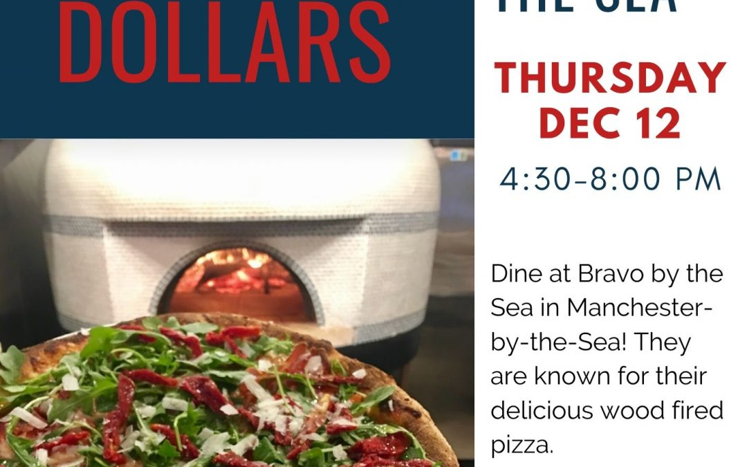 Dining for Dollars in December @ Bravo By the Sea
