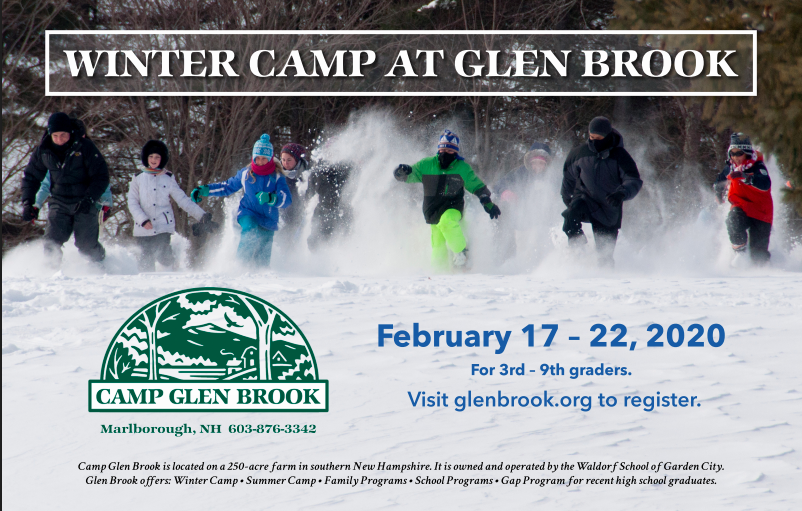 Winter Camp at Glen Brook
