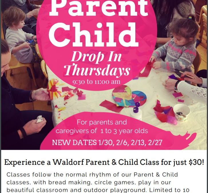 Parent & Child Drop-In Class Thursdays