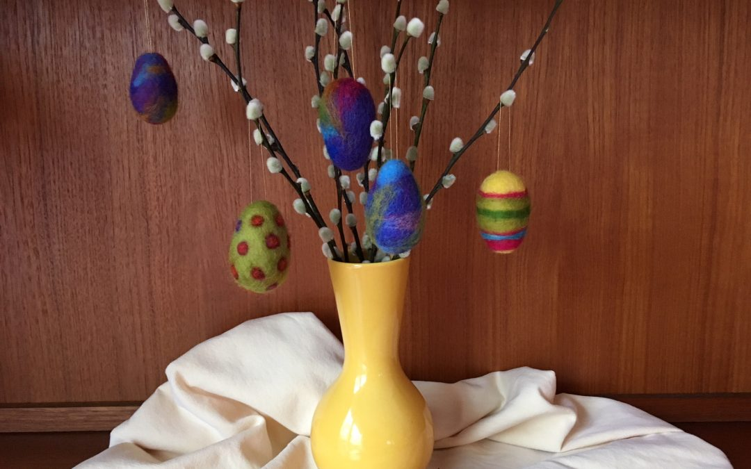 Spring Eggs Felting Workshop March 14